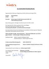 EU-Konformitätserklärung