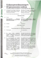 DEKRA-Zertifikat für FFP2-Maske 7143